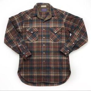 Vintage Pendleton Pearl Snap Western Shirt jacket